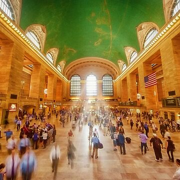 Grand Central Daylight (digital painting) by RayW
