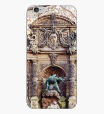 Medici Fountain in Autumn - Paris, France iPhone Case