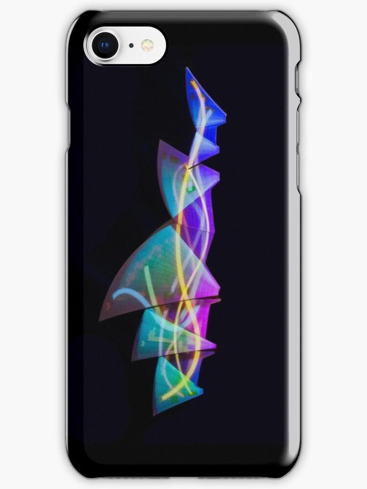 Sail Streamers - Vivid Festival - Sydney Opera House - iPhone Case by Bryan Freeman
