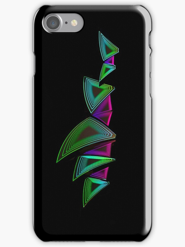 Time Tunnel Sails - Sydney Opera House - iPhone Case by Bryan Freeman