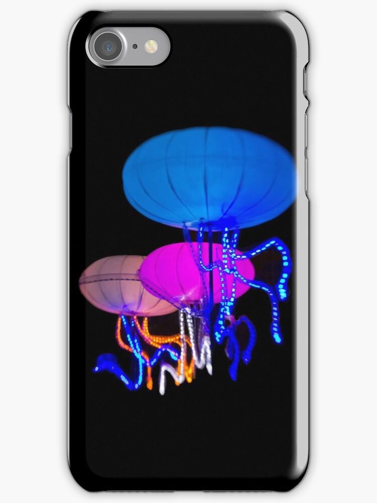 The Jellies - Sydney Vivid Festival - iPhone Case by Bryan Freeman