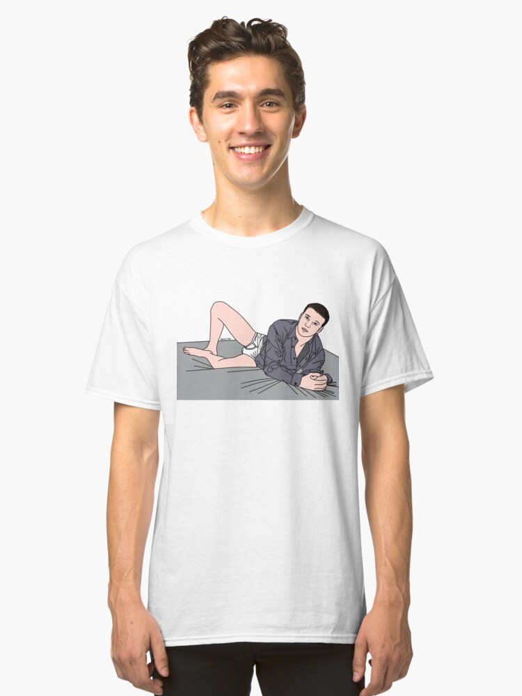 Alternate view of Lay Down With Me Classic T-Shirt