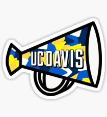 UC Davis Megaphone Sticker