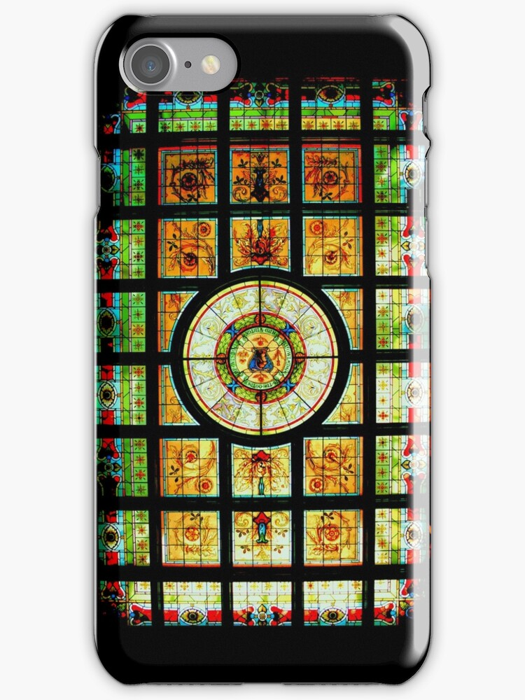 The Library Ceiling - Parliament House Sydney - iPhone Case by Bryan Freeman
