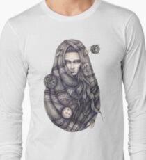 Time Does Not Exist -Tee Long Sleeve T-Shirt