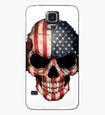 Funda/vinilo para Samsung Galaxy Cráneo americano