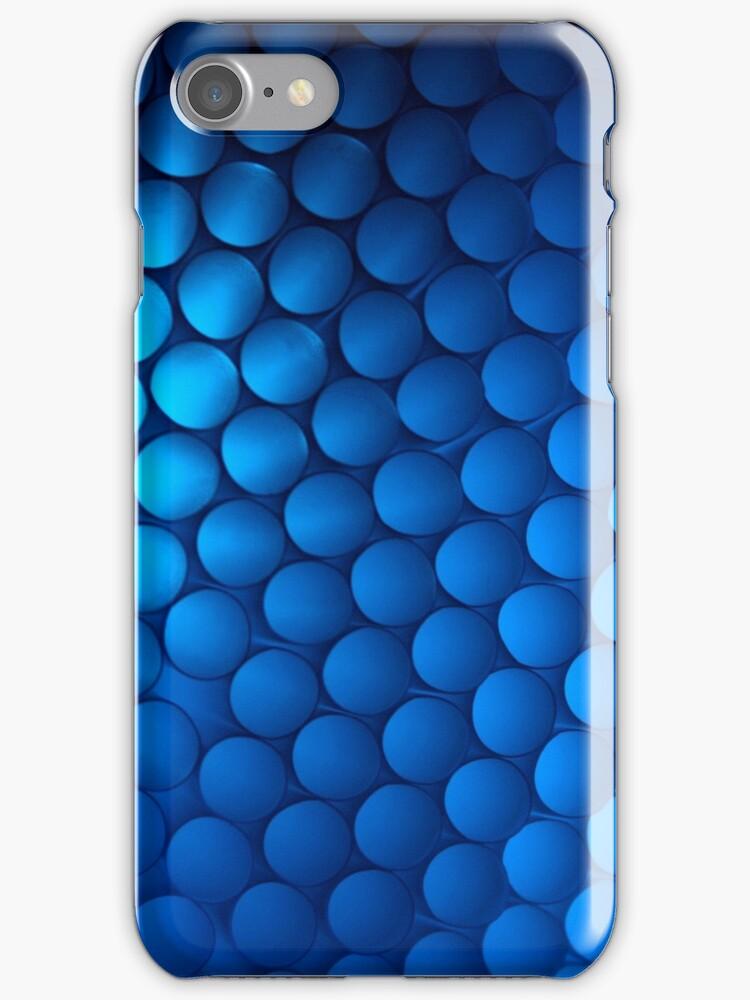 Just Blue - iPhone Case by Bryan Freeman