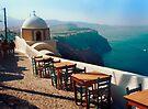 A View from Firostefani, Greece by Yuri Lev