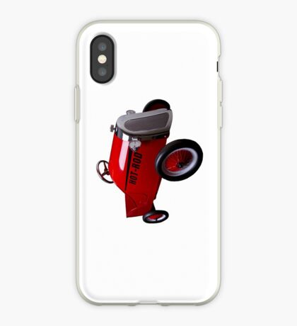 Hot Rod (on white) - iPhone Case iPhone Case