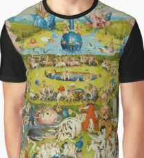 Garden of Earthly Delights (Ecclesia's Paradise) Graphic T-Shirt