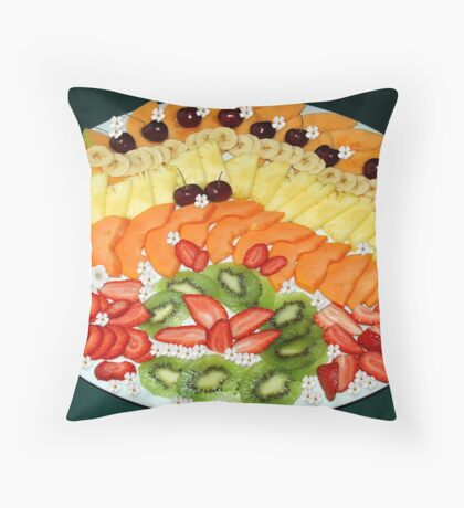 A FEAST ON FRUITS ! Throw Pillow