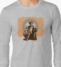 Hermes II - Orange Long Sleeve T-Shirt