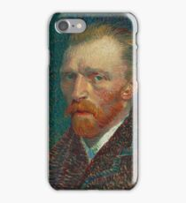 Vincent Van Gogh self portait iPhone Case/Skin