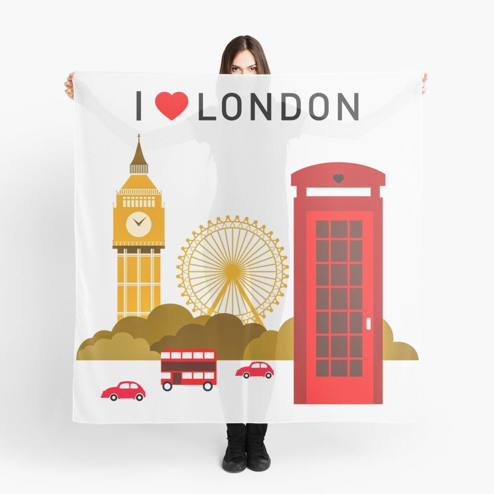 Ich liebe London Tuch