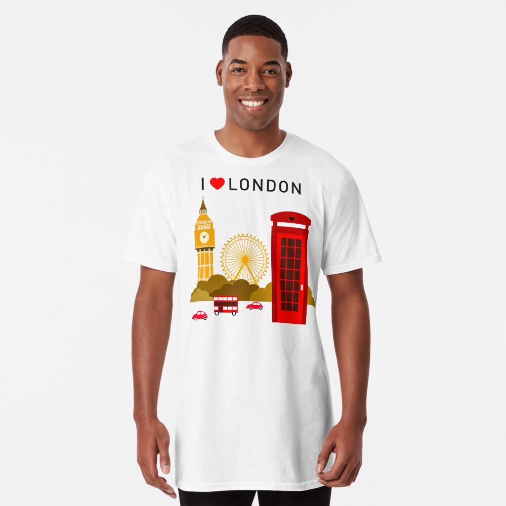 Ich liebe London Longshirt