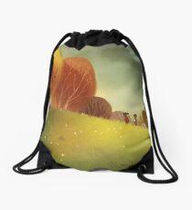 Through the Woods Drawstring Bag