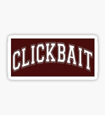 CLICKBAIT MERCH DAVID DOBRIK Sticker