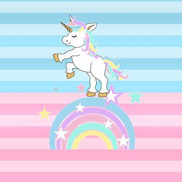 Magical Unicorn by DonnaSiggy