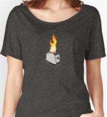 FlamingToaster Women's Relaxed Fit T-Shirt