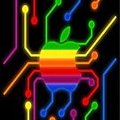 Apple Power Circuit by diveroptic