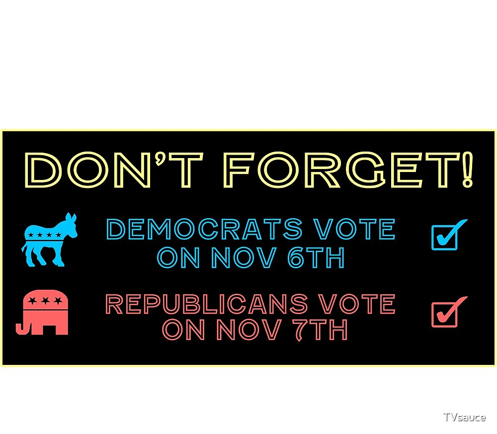 Don't Forget To Vote! by TVsauce