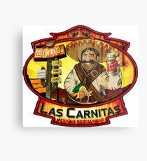 Las Carnitas Metal Print