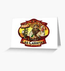 Las Carnitas Greeting Card