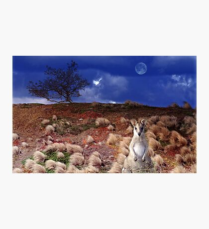 Winds of a Blue Moon Photographic Print