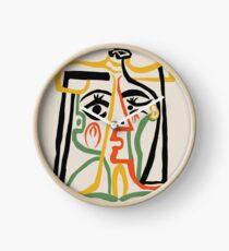 Picasso - Frauenkopf # 1 Uhr
