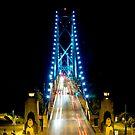Lions Gate Bridge Vancouver by Luca Renoldi