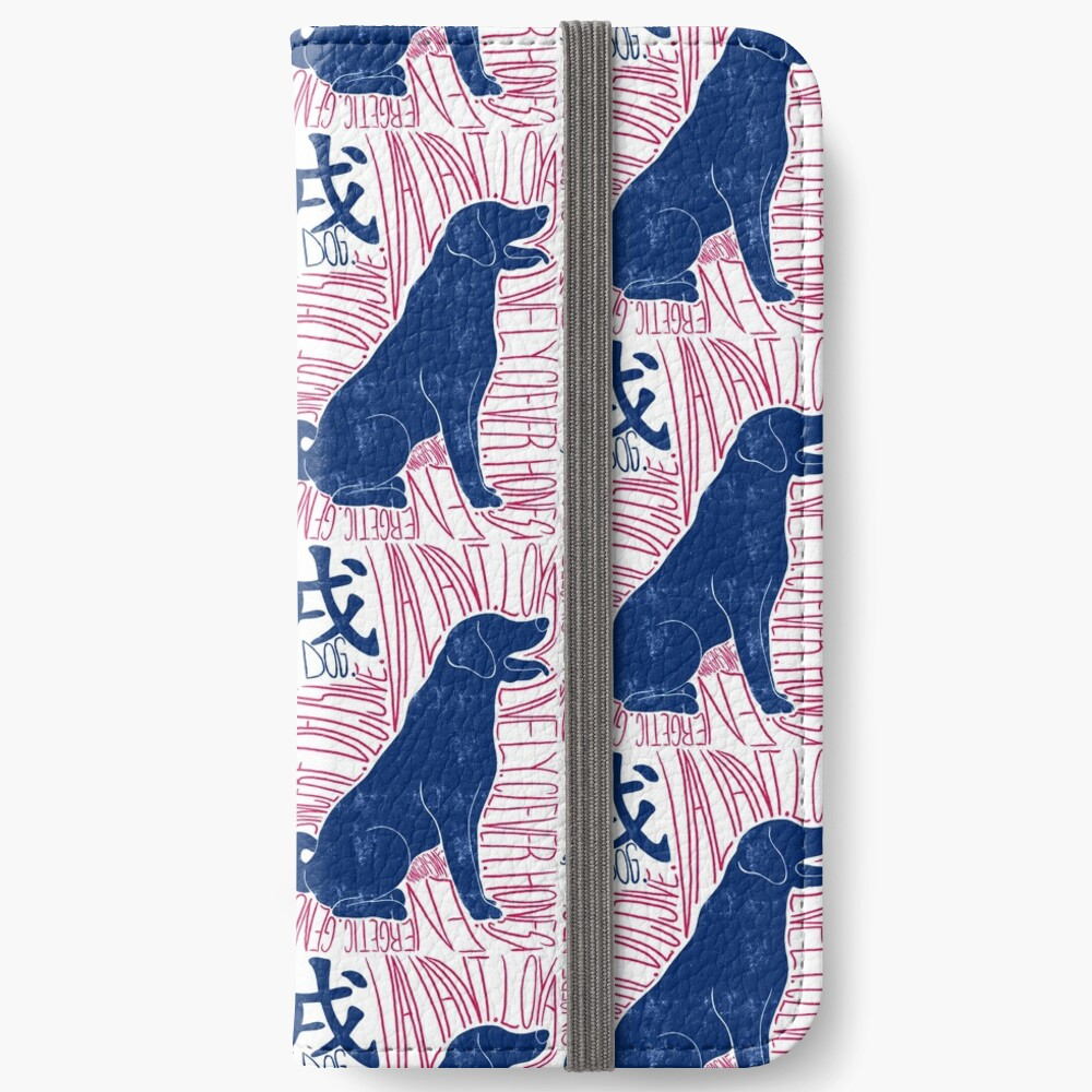 The Dog Chinese Zodiac Sign iPhone Wallet