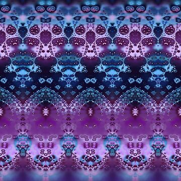 Hippy Blue and Lavender by KirstenStar