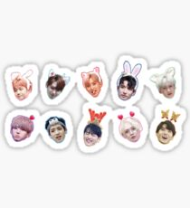 Pentagon feat. Cute Head Accessories Sticker