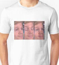 Camiseta unisex Chico blanco parpadeando