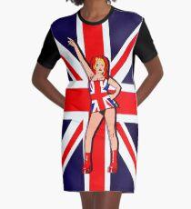 fb168b695 Ginger union Jack Graphic T-Shirt Dress