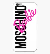 Moschino Barbie iPhone Case