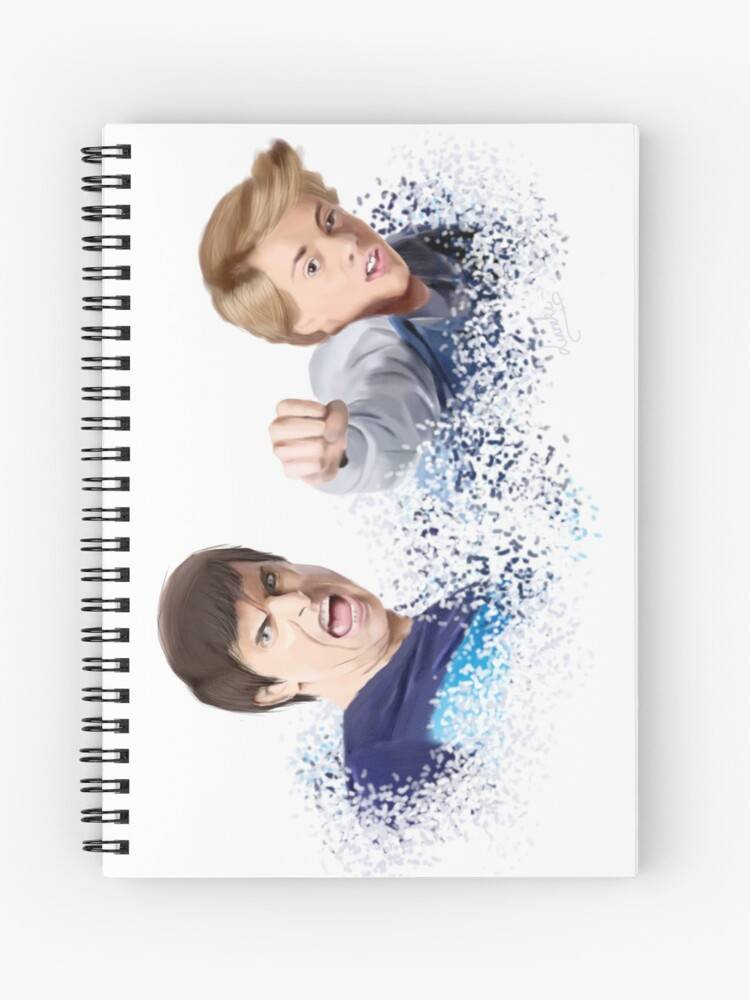 Henry Hart and Ray Manchester - Sketch | Spiral Notebook