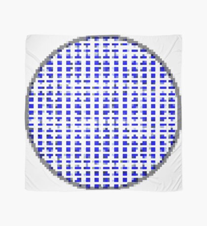 Pure Blue Dot Square by RootCat Scarf