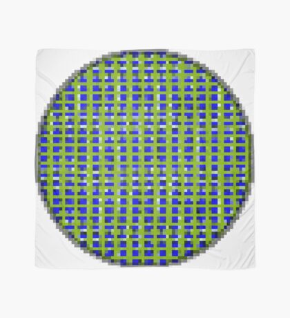 Blue Dot Square by RootCat  Scarf