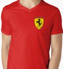 Ferrari Logo  Men's V-Neck T-Shirt