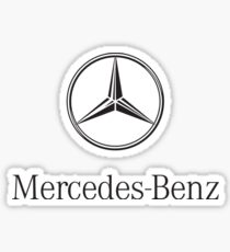 Mercedes-Benz Logo  Sticker
