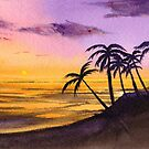 Palm Trees in the Sunset by yrya-chan