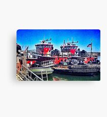 Portsmouth Icons Canvas Print