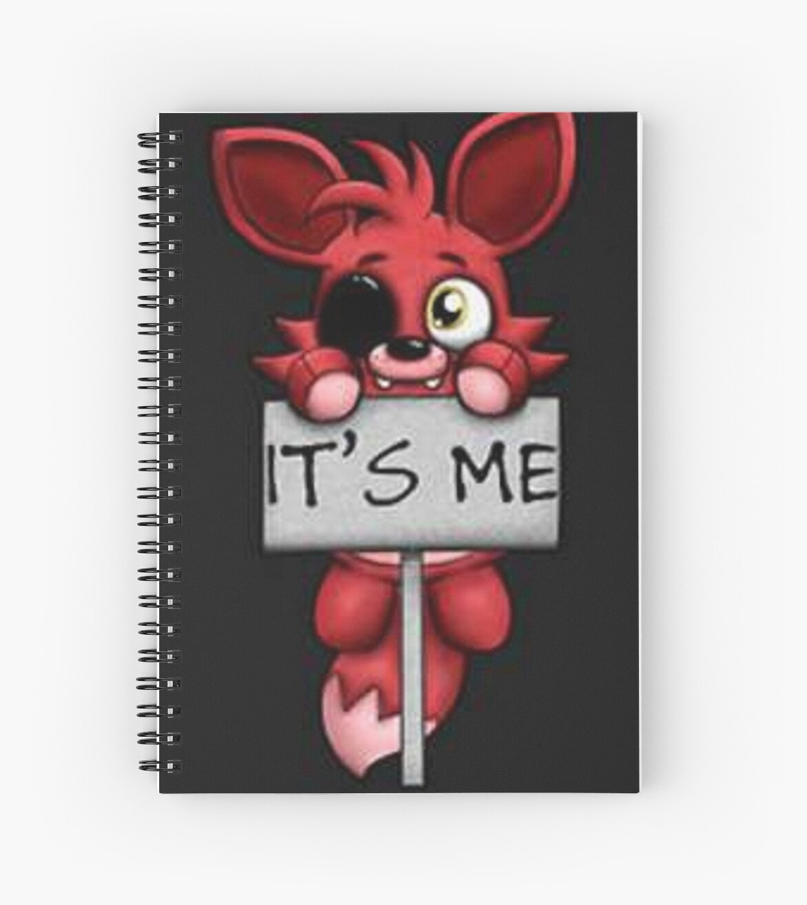 fnaf five nights at freddys foxy fox spiral notebooks by taelss