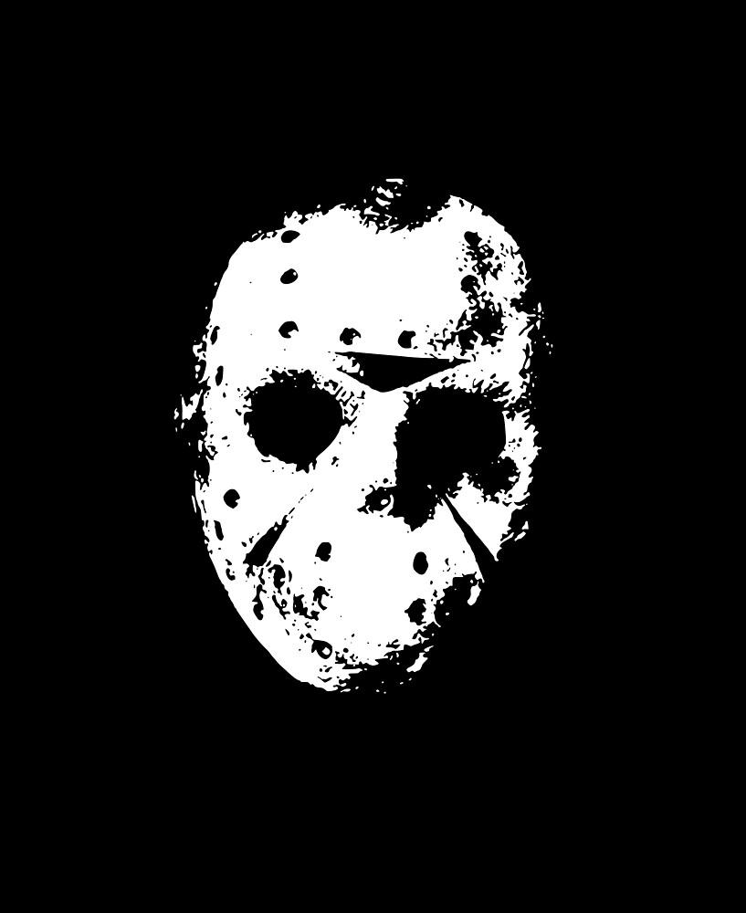 Freitag der 13. - Jasons Maske von UnconArt