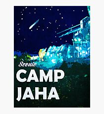 The 100 - Vintage Travel Poster (Camp Jaha) Photographic Print