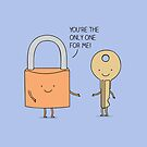 Lock and key by Milkyprint