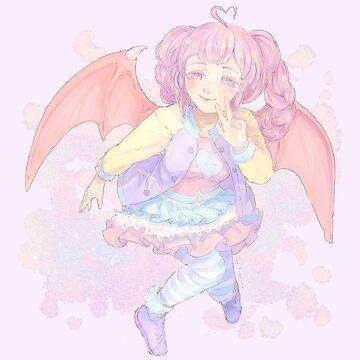 pastelgirl by Daykuronuma
