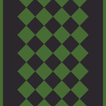 Green and Black Geometric by STHogan