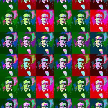 Many Colours Of Poe. by OriginalDP